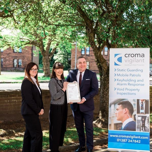 Croma Vigilant achieve ISO22301 Business Continuity Certification